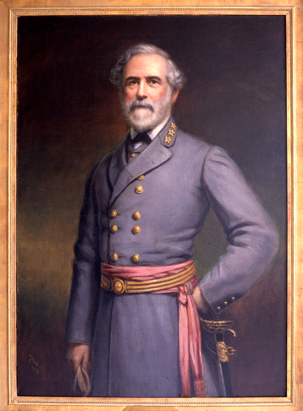 Robert E. Lee, by Theodore Pine