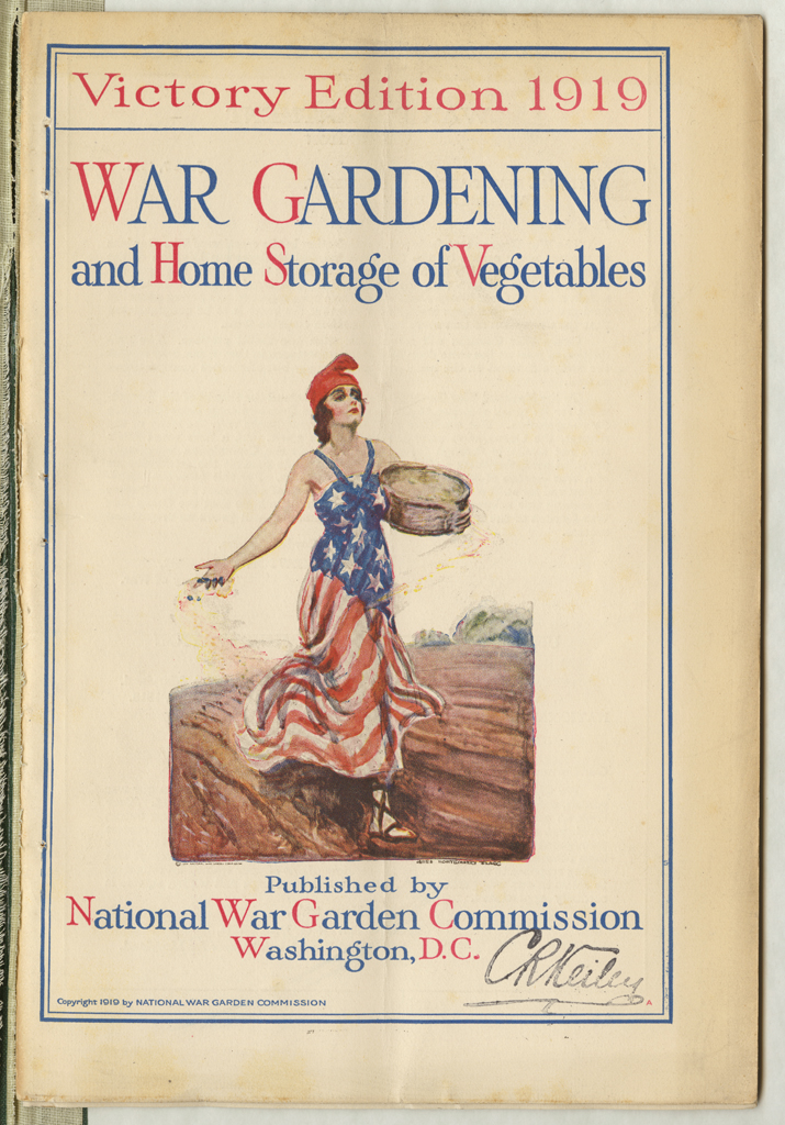SB321.N3.1919.Cover  - Planting Victory Gardens And Conserving Resources