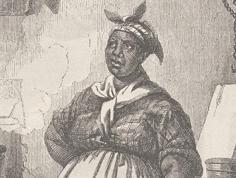 Enslaved African American cook
