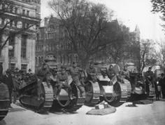 WWI tanks in Richmond
