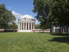 The Rotunda. Courtesy of the University of Virginia.