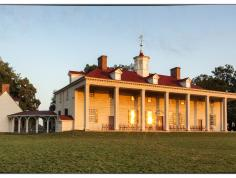 George Washington's Mount Vernon. Photo courtesy of Mount Vernon Ladies' Association.