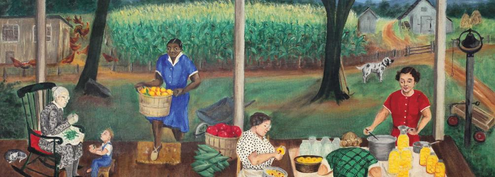 Picture of the Peaches Are In painting by Queena Stovall