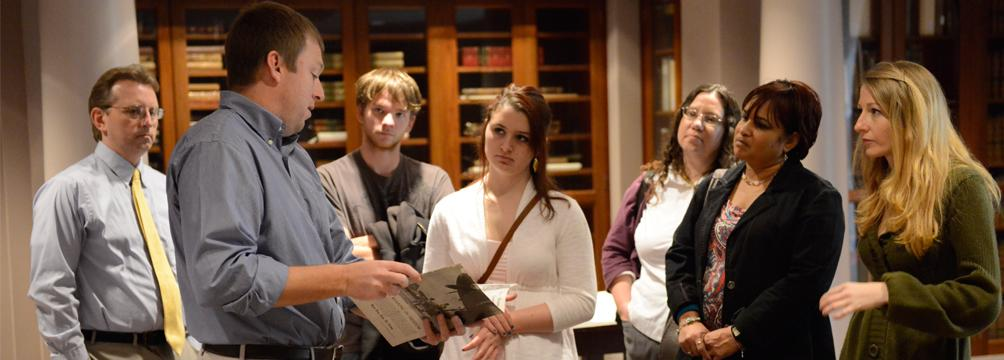 Behind the Scenes Tour in Rare Book Room
