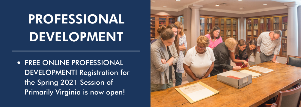 Spring 2021 Professional Development Opportunities