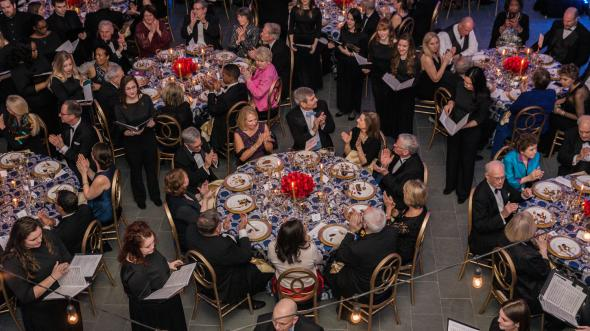 Group gathered for annual Gala