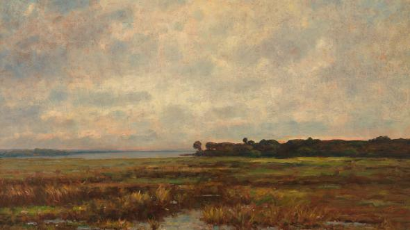 Potomac Marsh by Max Weyl
