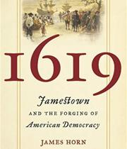1619 by James Horn book cover