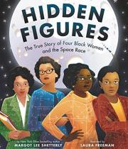 Hidden Figures children's book cover
