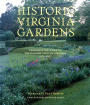 Historic Virginia Gardens book cover
