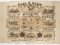 Eagle Machine Works, Richmond, Virginia (detail)