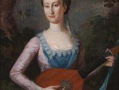 Portrait of Lucy Randolph Burwell