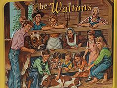 """The Waltons"" lunch box (Front)"