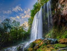 A Landscape Saved signature image. Falling Spring Falls.Photo courtesy of Scenic Virginia and Warren Faught.