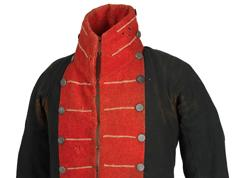 1812 uniform jacket of Capt. Martin Kirtland
