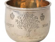Silver in Virginia - Silver Hunting Cup (Gift of Frances Roberdeau Wolfe, 1963.25)
