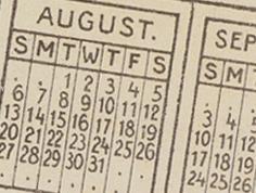 Life Insurance Calendar 2003.131.23