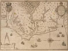 Early Map of Virginia