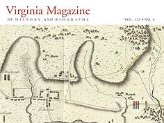 Virginia Magazine of History and Biography, vol. 125, no. 4