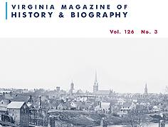 Virginia Magazine of History & Biography, vol. 126, no. 3