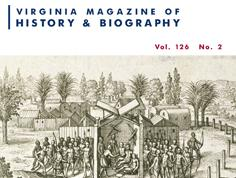 Virginia Magazine of History & Biography, vol. 126, no. 2