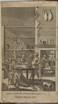 FRONTISPIECE. The Prudent Housewife: or, Complete English Cook for town and country