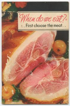 Cookbook advertising