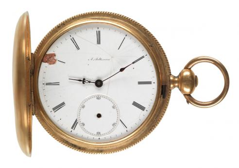 Dr. James Markham Marshall Ambler's pocket watch