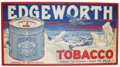 Edgeworth tobacco advertisement