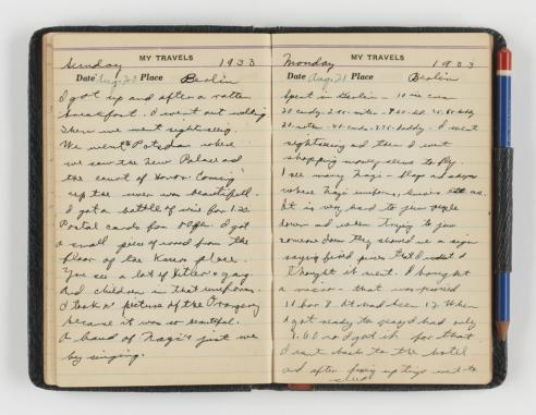 Bradford Wasserman diary