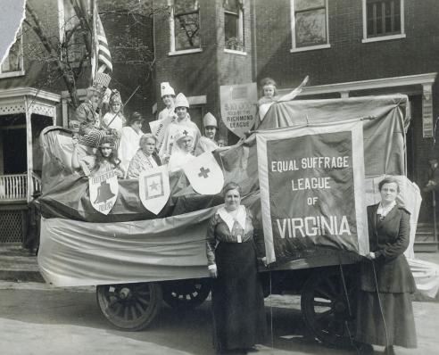 Equal Suffrage League of Virginia, Richmond, c. 1919