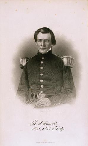 A. H. Ritchie, Lieutenant Grant, Age 21 [1843]