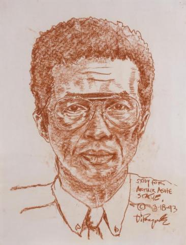 Arthur Ashe Sketch