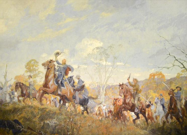 The Cavalry (Autumn) Mural