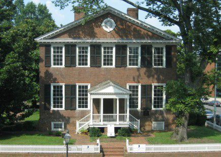 The JOhn Marshall House in Richmond, Virginia