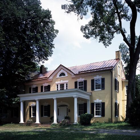 Photograph of Marshall House (Dodona Manor)