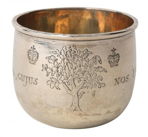 Silver Hunting Cup (Gift of Frances Roberdeau Wolfe, 1963.25)