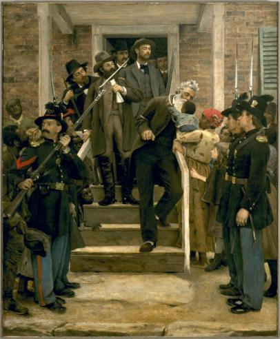 The Last Moments of John Brown by Thomas Hovenden, 1884