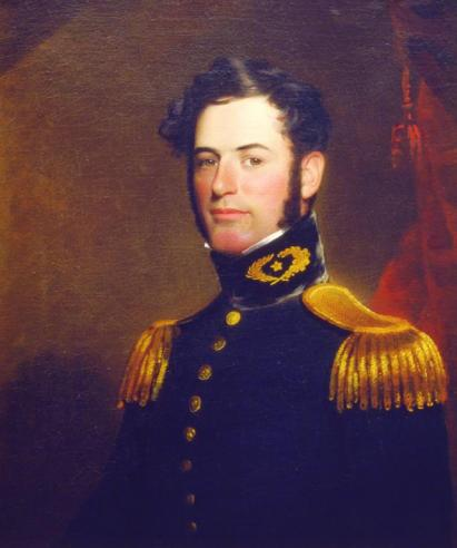 William Edward West, Robert E. Lee in the Dress Uniform of a Lieutenant of Engineers, 1838