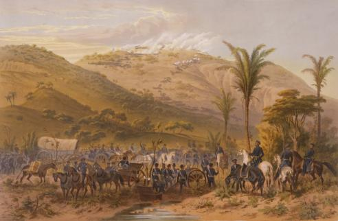 Carl Nebel, Battle of Cerro Gordo, 1847