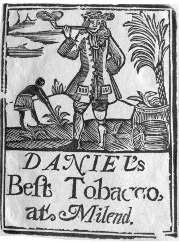 Daniel's Best Tobacco label