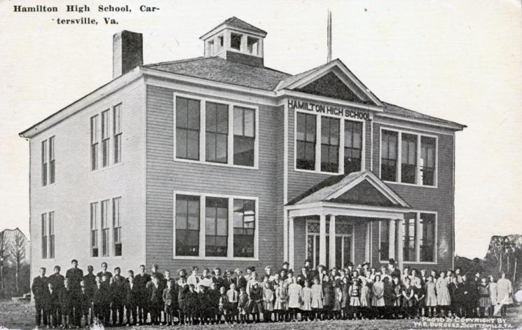 Hamilton High School, Cartersville, c. 1910