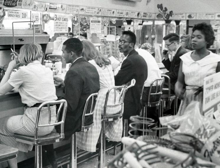 Lunch counter sit-in, Arlington, 1960