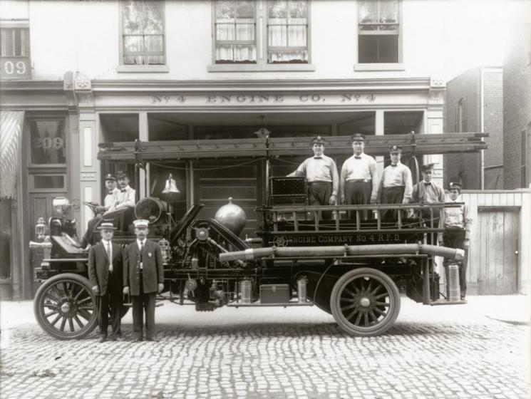 Engine Company #4, Richmond, 1911