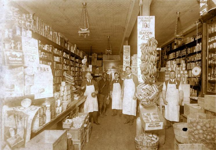 Weldon's Market, Richmond, early 20th century