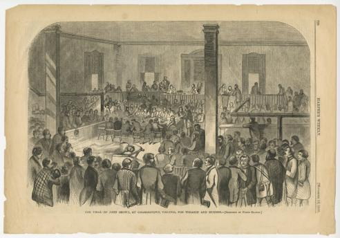 The Trial Of John Brown, At Charlestown, Virginia, For Treason And Murder