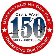 Civil War Sesquicentennial 150 logo