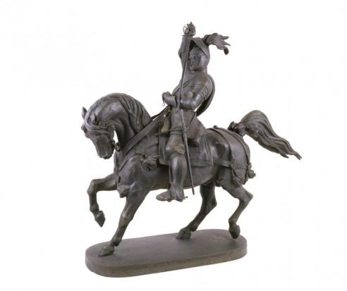 Equestrian Statue of Emmanuel Philibert of Savoy, c. 1800–60