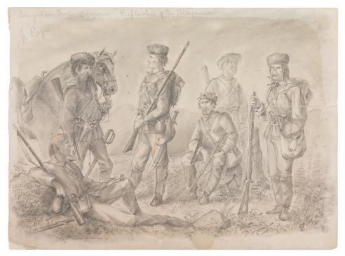 Irregular Troops of Virginia, Alfred Wordsworth Thompson, 1861
