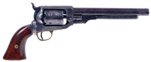 Maj. Gen. J. E. B. Stuart's Whitney Navy Revolver, c. 1857–62